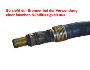 Brenner Defekt